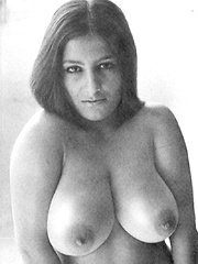 Several big boobed sixties ladies showing it all