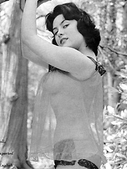 June Palmer showing her perfectly fine body parts