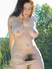 Eleanor Rose hairy large natural boobs