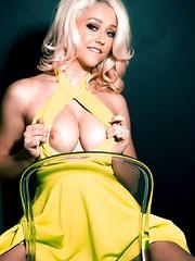 Sabrina Dresses natural boobs group sex