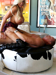 Wifey Gets Fucked And Rides Cock In Tall Boots