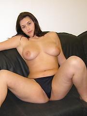 Big tit blonde loves sucking dick