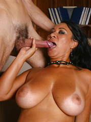 Latina with huge juggs gets nailed!