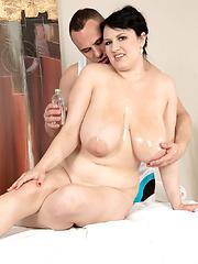 Oily Boob Massage Sex