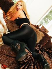 amelia black leggings